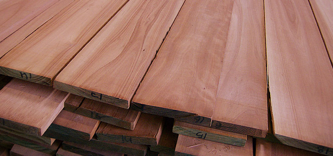 Eucalyptus boards